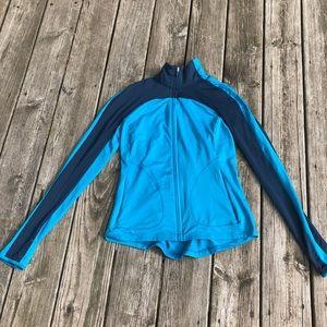 Blue Gap Fit Workout Jacket